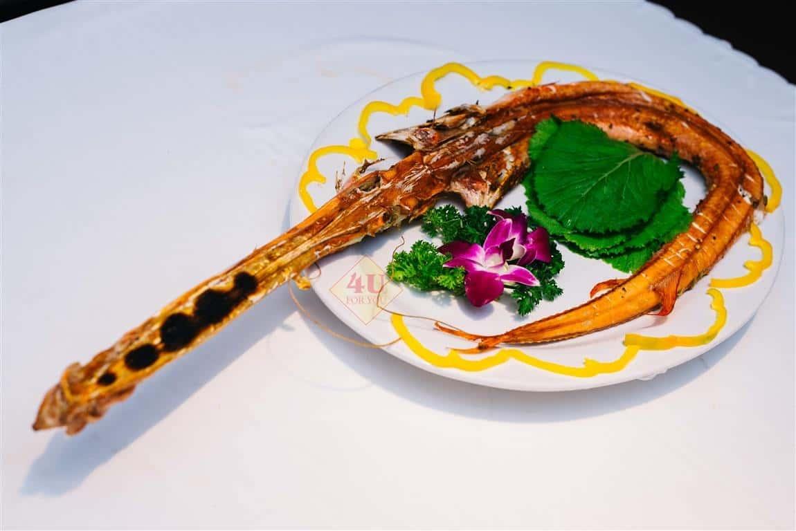 Cá Chìa Vôi Nướng / Red pipefish Grilled