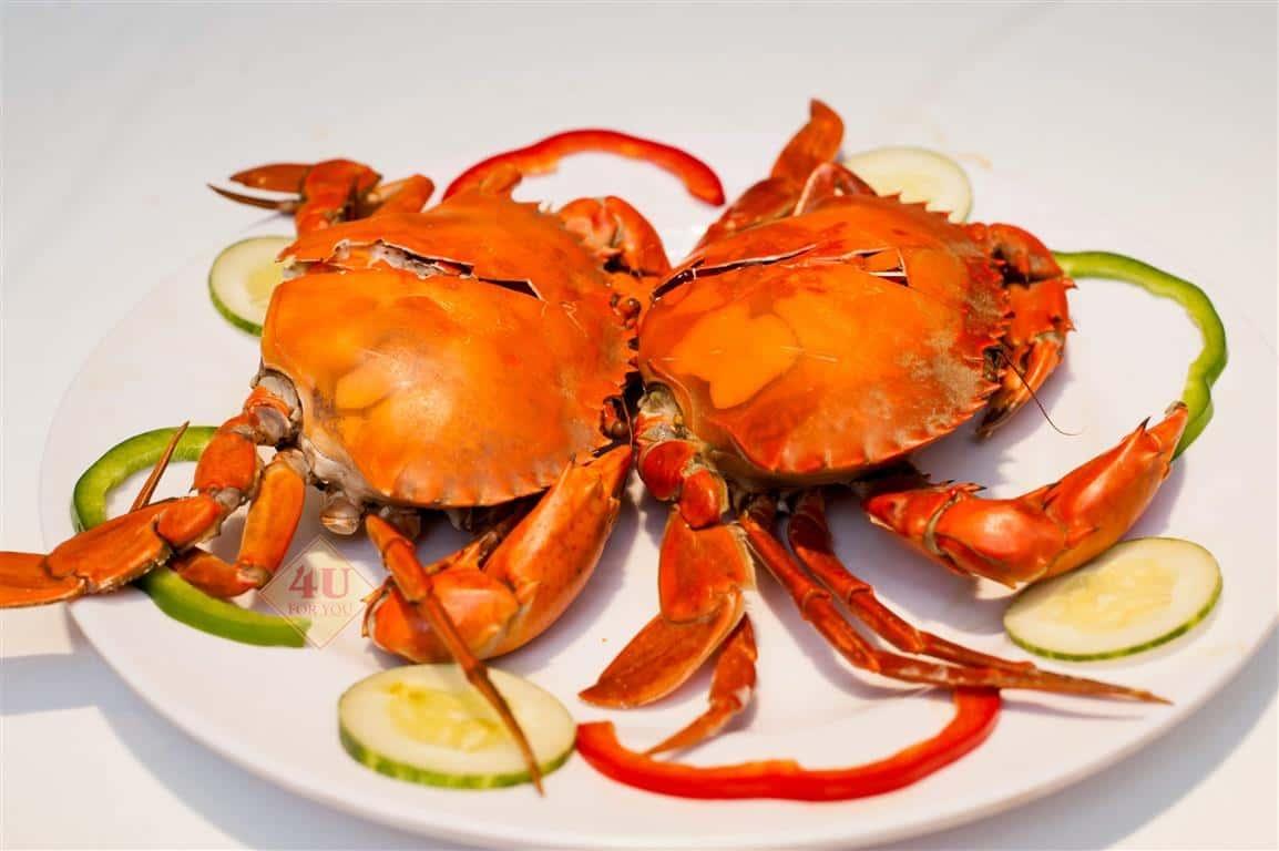 Cua Hấp / Crab Steamed