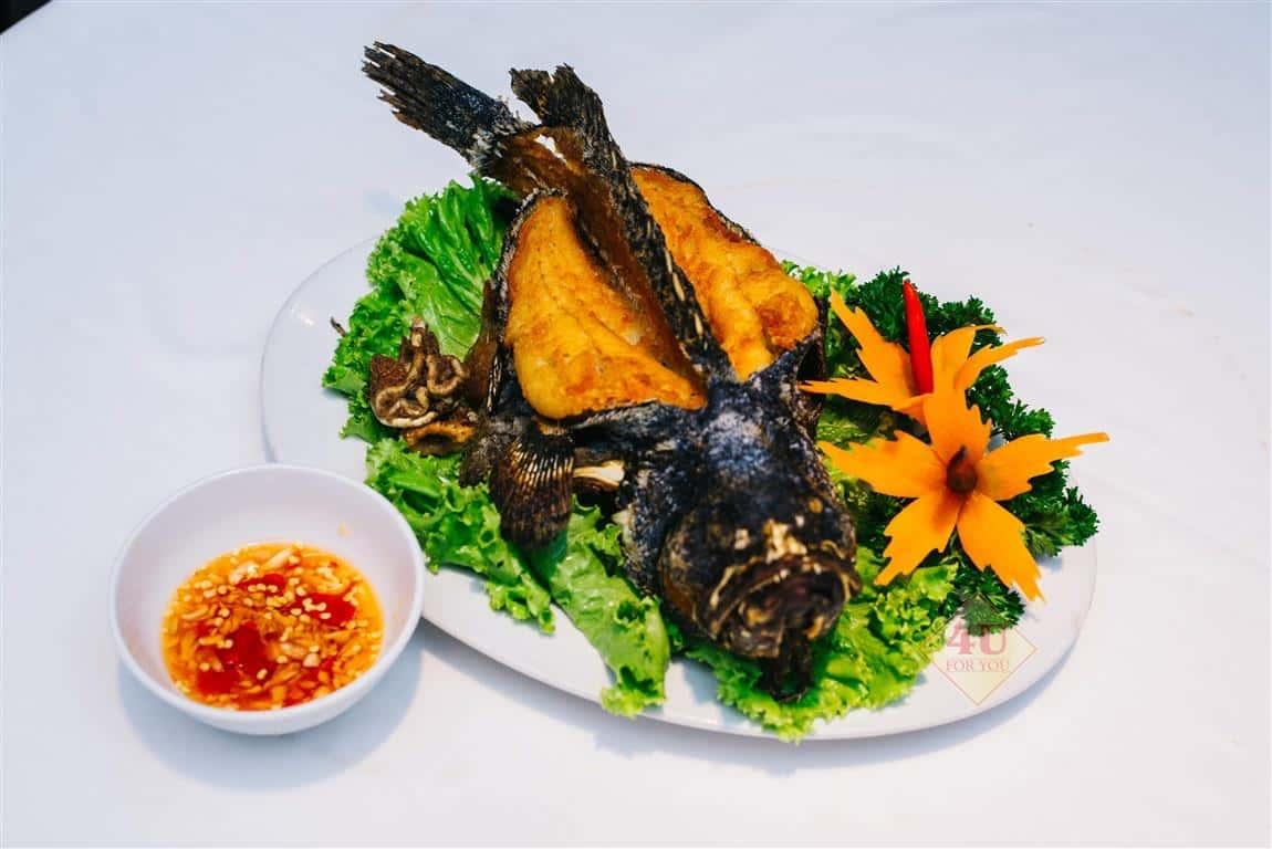 Cá Mú Chiên / Grouper Deep-fried