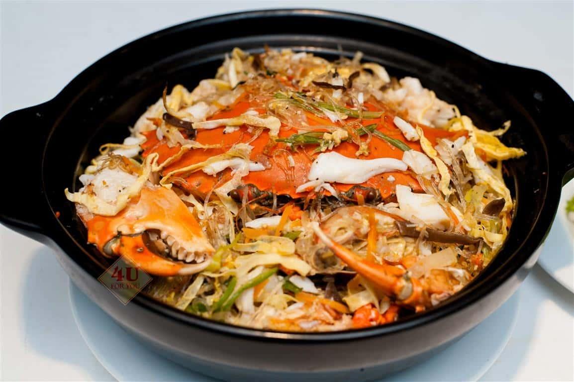 Miến Xào Cua / Crab Stir-fried with vermicelli
