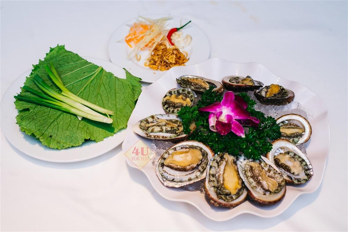 Bào Ngư Sashimi / Abalone Sashimi