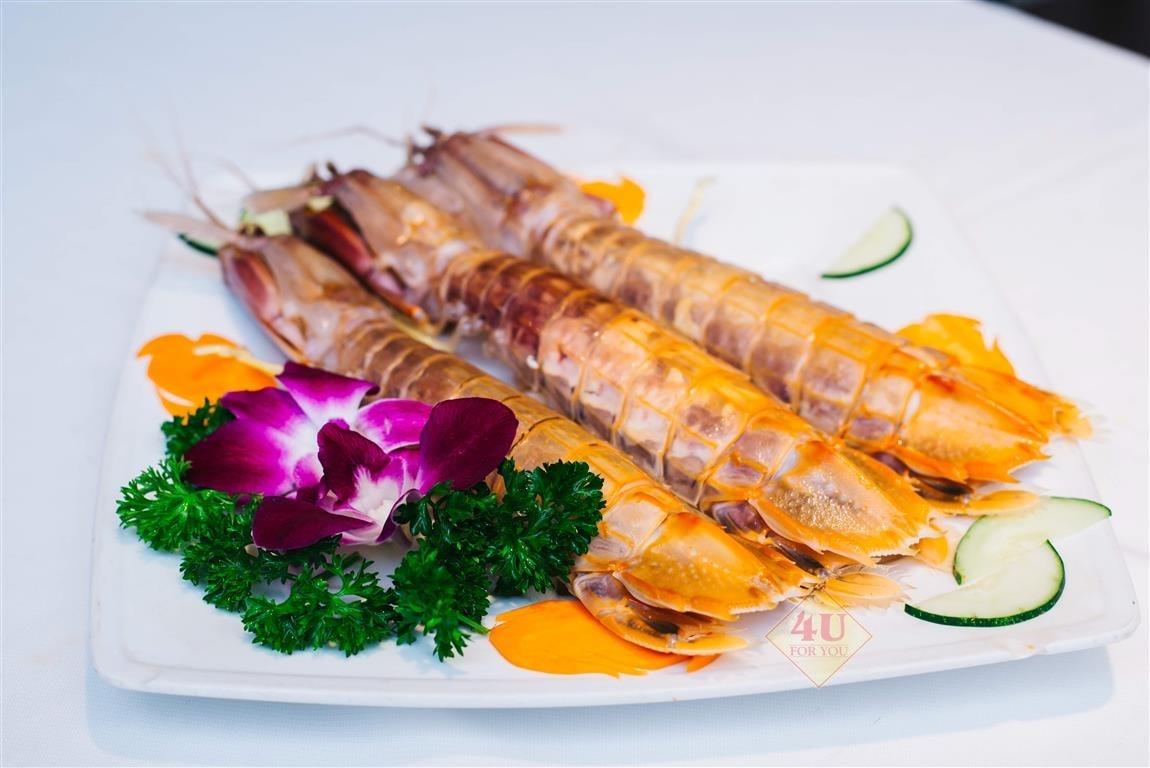 Tôm Tít Hấp / Mantis Shrimp Steamed