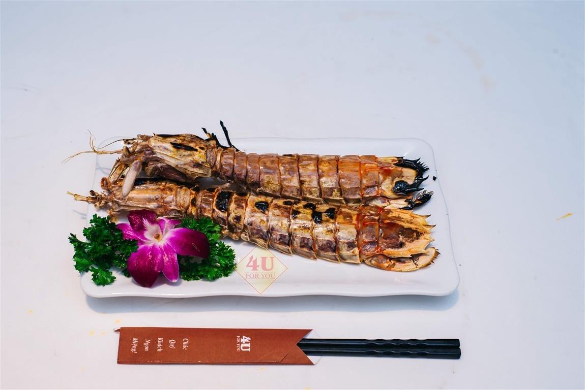 Tôm Tít Nướng / Mantis Shrimp Grilled