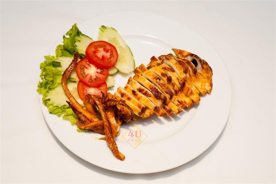 Mực Nướng Sa Tế / Squid Grilled