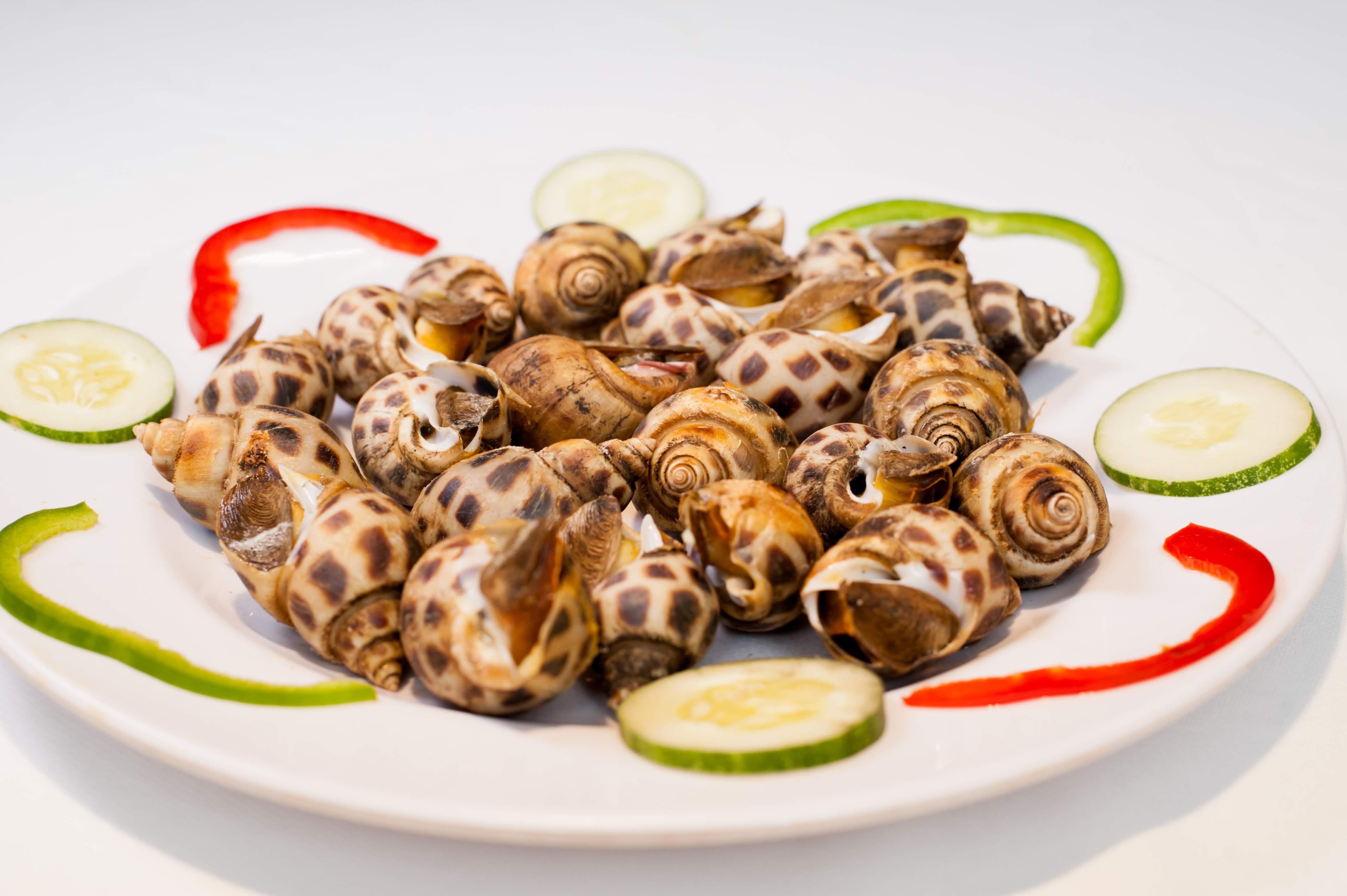 Ốc Hương Nướng / Sweet snail Grilled