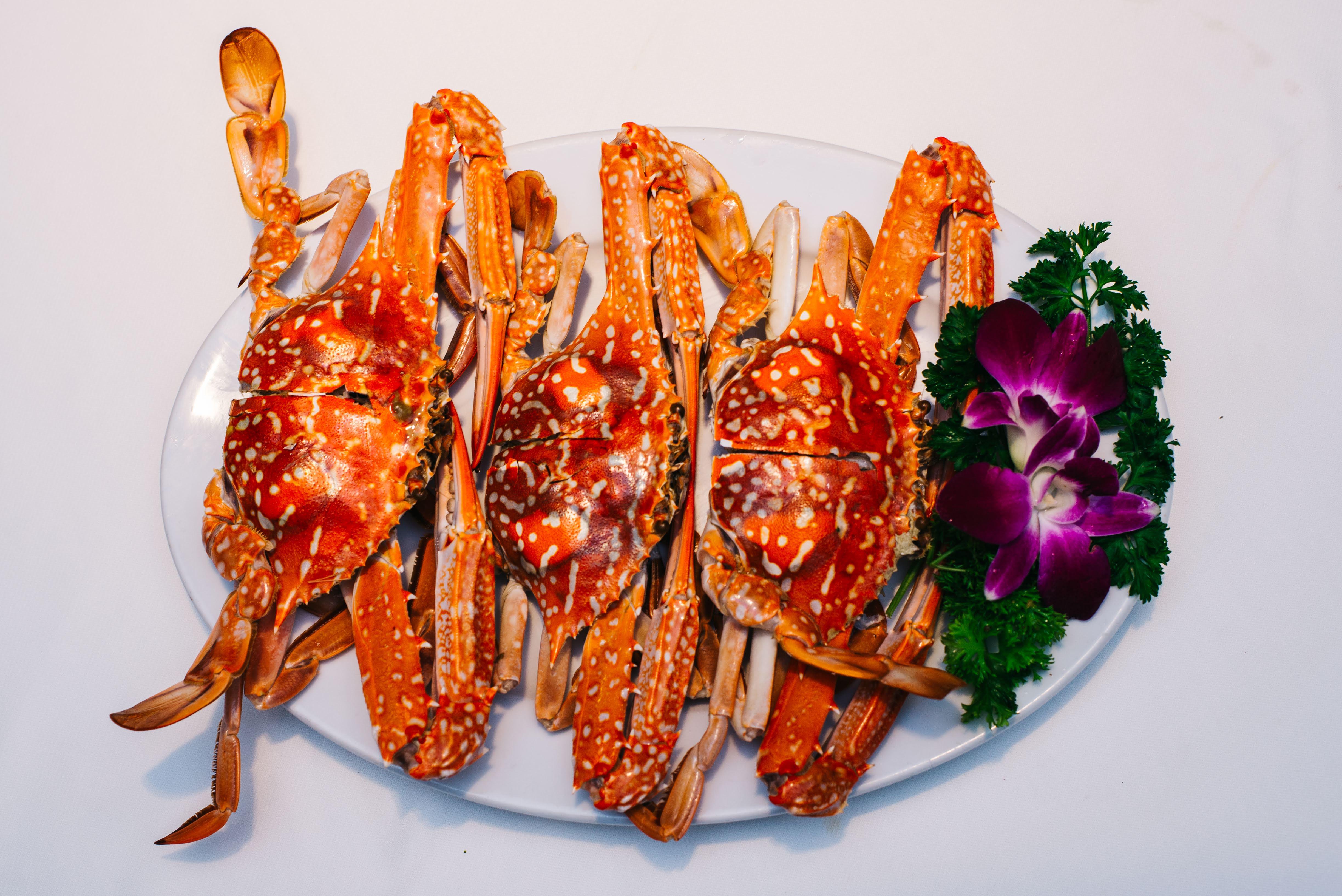 Ghẹ Xanh Hấp / Sea Crab Steamed