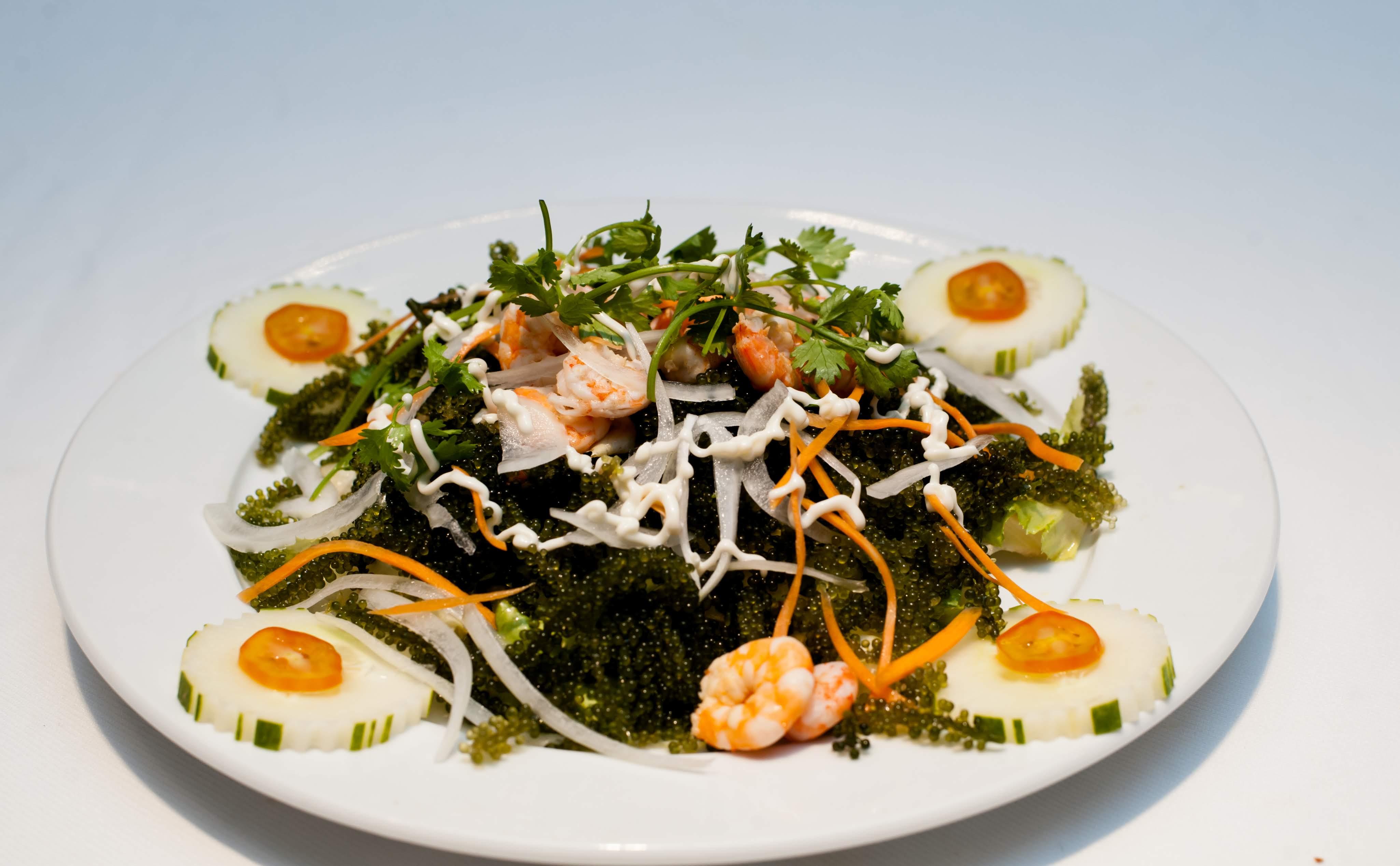 Salad Rong Nho / Algae Grapes salad