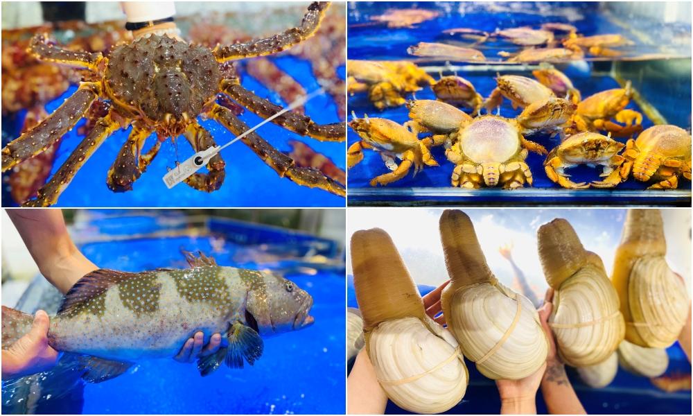 hải sản tại Đà Nẵng ngon
