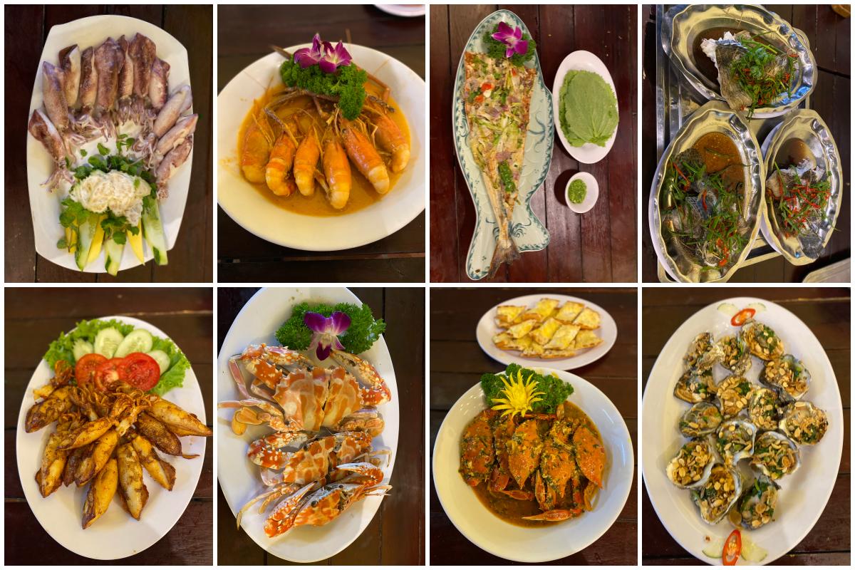 món hải sản Đà Nẵng